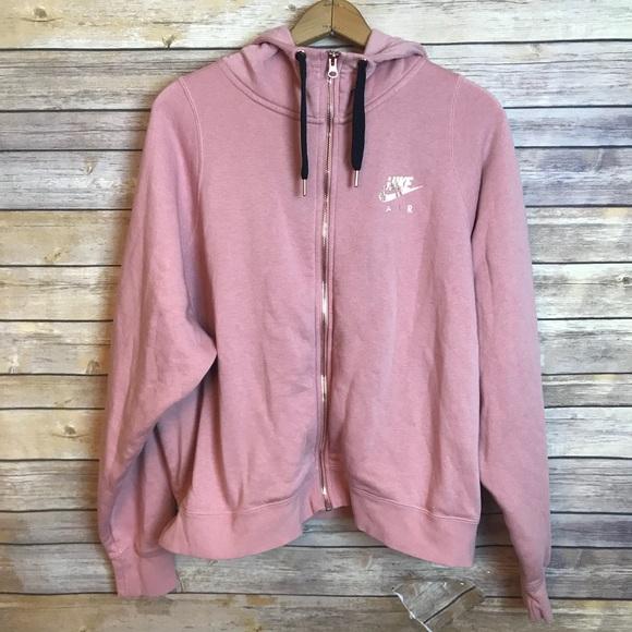 fd4a3b82648ff8 Nike air women s tech pink running hoodie gold. M 5b936d4c1e2d2db66ae31930